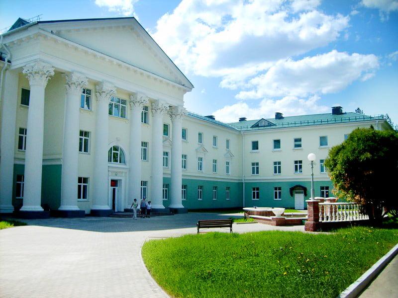 санаторий Лепельский военный-1